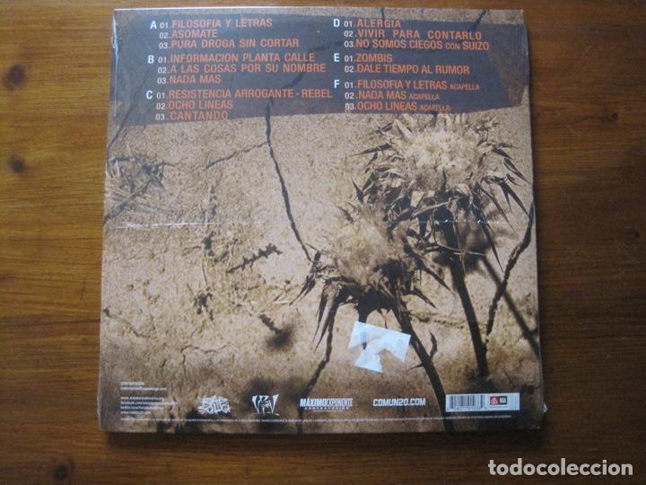 Discos de vinilo: Violadores Del Verso, Vivir Para Contarlo, nuevo - Foto 2 - 261346115