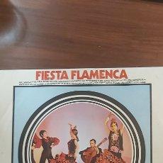 Discos de vinilo: FIESTA FLAMENCA LA POLACA JUANITO VALDERRAMA PERICON DE CADIZ MANITAS DE PLATA. Lote 261346840