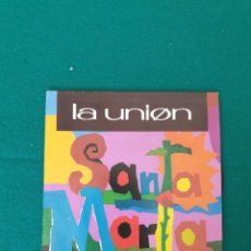 Discos de vinilo: LA UNION SANTA MARIA SINGLE 7'' 1991 PROMO DOBLE CARA WEA. Lote 261348035