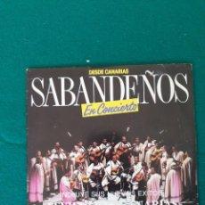 Discos de vinilo: SABANDEÑOS. Lote 261349050