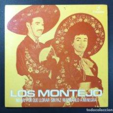 Discos de vinilo: LOS MONTEJO - NO HAY POR QUE LLORAR - EP 1964 - COLUMBIA. Lote 261350660