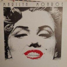 Discos de vinilo: MARILYN MONROE: WHEN I FALL IN LOVE, HEAT WAVE ED.ESPAÑA PDI 1987 TEXTO DAVID NICHOLSON. Lote 261351180