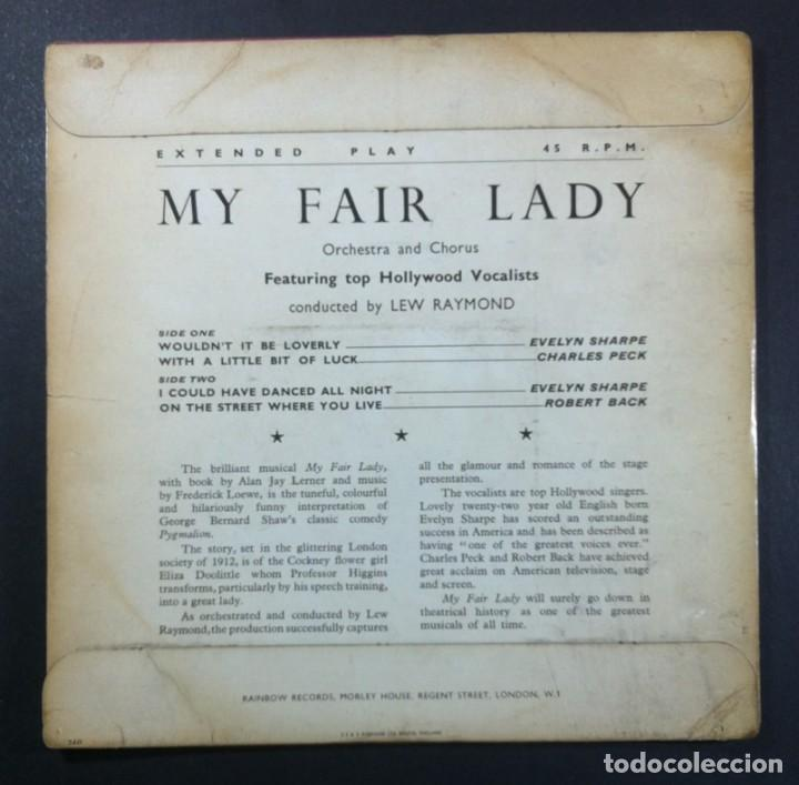 Discos de vinilo: LEW RAYMOND ORCHESTRA - My Fair Lady - EP UK - RAINBOW MAX-FI - Foto 2 - 261351210