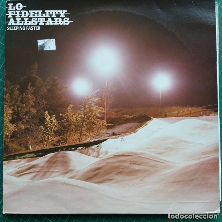 """LO-FIDELITY ALLSTARS - SLEEPING FASTER (12"""") (2002/UK) (Música - Discos de Vinilo - Maxi Singles - Electrónica, Avantgarde y Experimental)"""