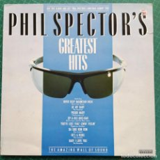 Discos de vinilo: PHIL SPECTOR'S GREATEST HITS (LP, COMP) (1983/UK) (RONETTES, CRYSTALS, RIGHTEOUS BROS...). Lote 261354675