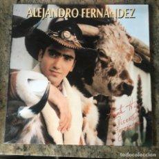 Discos de vinilo: ALEJANDRO FERNÁNDEZ - ALEJANDRO FERNANDEZ . LP . 1992 EPIC. Lote 261355680