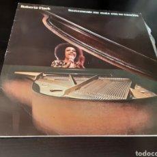 Discos de vinilo: ROBERTA FLACK. SUAVEMENTE ME MATA CON SU CANCIÓN.. Lote 261356335