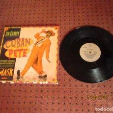 Discos de vinilo: JIM CARREY - CUBAN PETE - MAXI - USA - CHAOS RECORDINGS - REF 42 77587 - IBL -. Lote 261357355