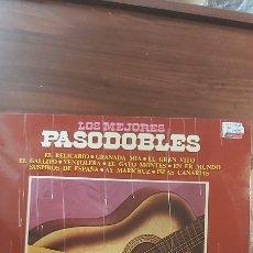 Discos de vinilo: LOS MEJORES PASODOBLES. LP. Lote 261365225