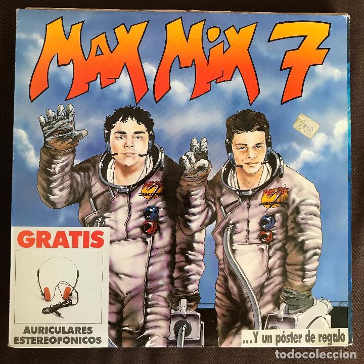 VV.AA. - MAX MIX 7 - LP DOBLE MAX 1988 (Música - Discos - LP Vinilo - Techno, Trance y House)