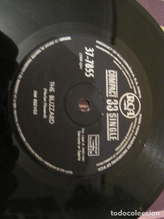 SINGLE JIM REEVES RCA 37-7855 SPAIN 1961 THE BLIZZARD/ DANNY BOY 33 RPM (Música - Discos - Singles Vinilo - Country y Folk)