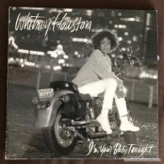 Discos de vinilo: WHITNEY HOUSTON - I'M YOUR BABY TONIGHT - LP ARISTA SPAIN 1990. Lote 261522075
