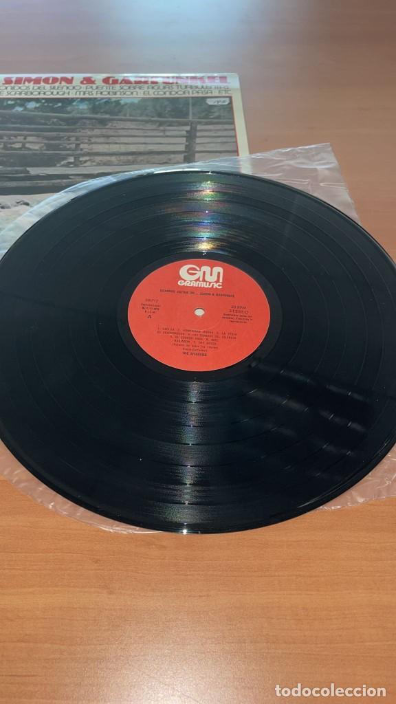 Discos de vinilo: VINILO The Nissung - Grandes Exitos de Simon y Garfunkel - GraMusic GM-712 - 1978 - Foto 7 - 166800070