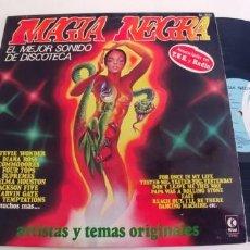 Discos de vinilo: MAGIA NEGRA-LP STEVIE WONDER DIANA ROSS ..ETC. Lote 261525870