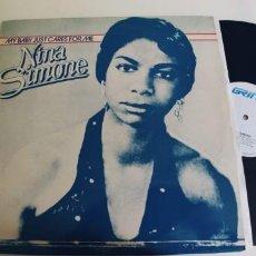 Discos de vinilo: NINA SIMONE-MAXI MY BABY JUST CARES FOR ME-NUEVO. Lote 261528135