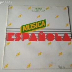 Discos de vinilo: TRIANA, SOMBRA Y LUZ, PROMOCIONAL MOVIE PLAY 1979, MIRAR FOTOS. Lote 261535005