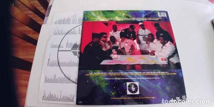 Discos de vinilo: PUBLIC ENEMY-LP FEAR OF A BLACK PLANET-ENCARTE LETRAS-BUEN ESTADO - Foto 2 - 261539765