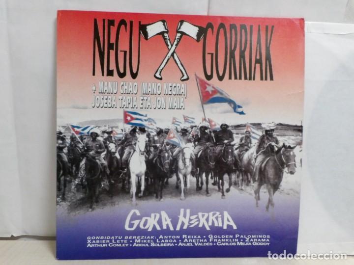 Discos de vinilo: NEGU GORRIAK --GORA HERRIA -PERIDIODICO GORA HARRIA TOUR 91-COMPLETO -IRUN- ESAN OBEKI RECORDS- 1991 - Foto 2 - 261545175