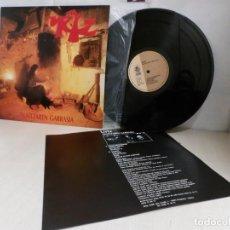 Discos de vinilo: URTZ. --EKAITZAREN GARRASIA--GOR G-508-1992--IRUÑEA--PAMPLONA. Lote 261546665