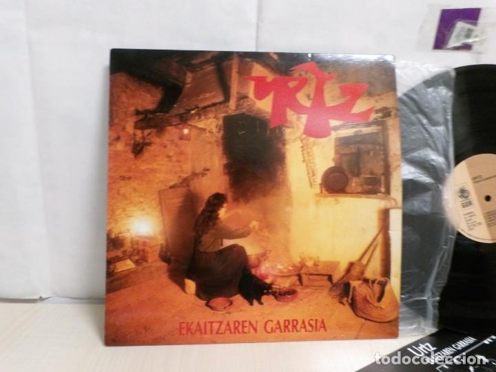 Discos de vinilo: URTZ. --EKAITZAREN GARRASIA--GOR G-508-1992--IRUÑEA--PAMPLONA - Foto 2 - 261546665