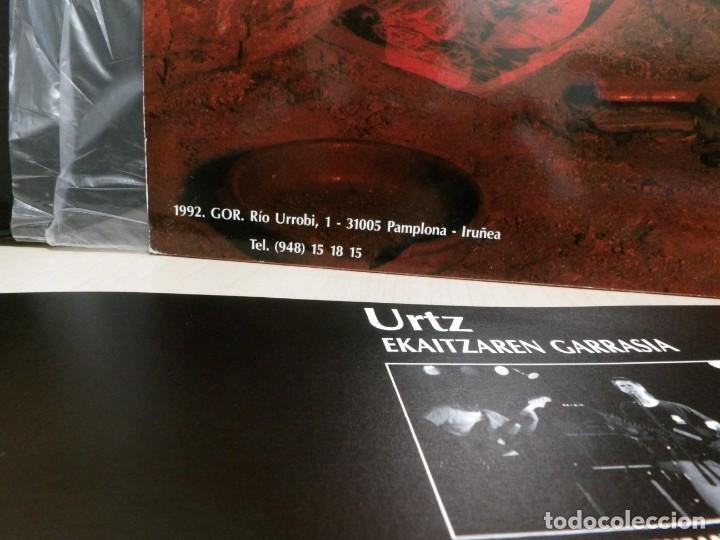 Discos de vinilo: URTZ. --EKAITZAREN GARRASIA--GOR G-508-1992--IRUÑEA--PAMPLONA - Foto 8 - 261546665