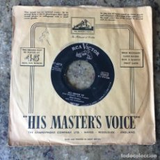 Discos de vinilo: ELVIS PRESLEY WITH THE JORDANAIRES - ALL SHOOK UP / THAT'S WHEN YOUR HEARTACHES BEGIN . 1957 USA. Lote 261548450