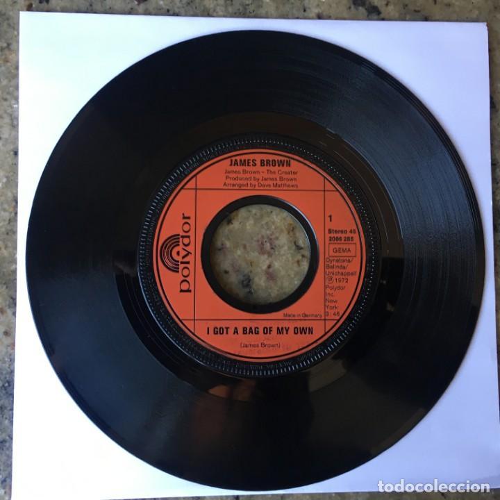 JAMES BROWN - I GOT A BAG OF MY OWN / I KNOW ITS TRUE . SINGLE . 1972 . GERMANY (Música - Discos - Singles Vinilo - Funk, Soul y Black Music)