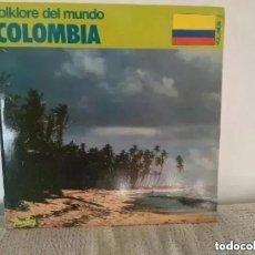 Discos de vinilo: FOLKLORE DEL MUNDO. COLOMBIA. 1981. Lote 261551995