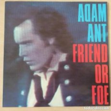 Dischi in vinile: ADAM ANT - FRIEND OR FOE (LP). Lote 261552450