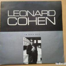 Discos de vinilo: LEONARD COHEN - I´M YOUR MAN (LP) 1989 EDICION CHECOSLOVACA. Lote 261552780