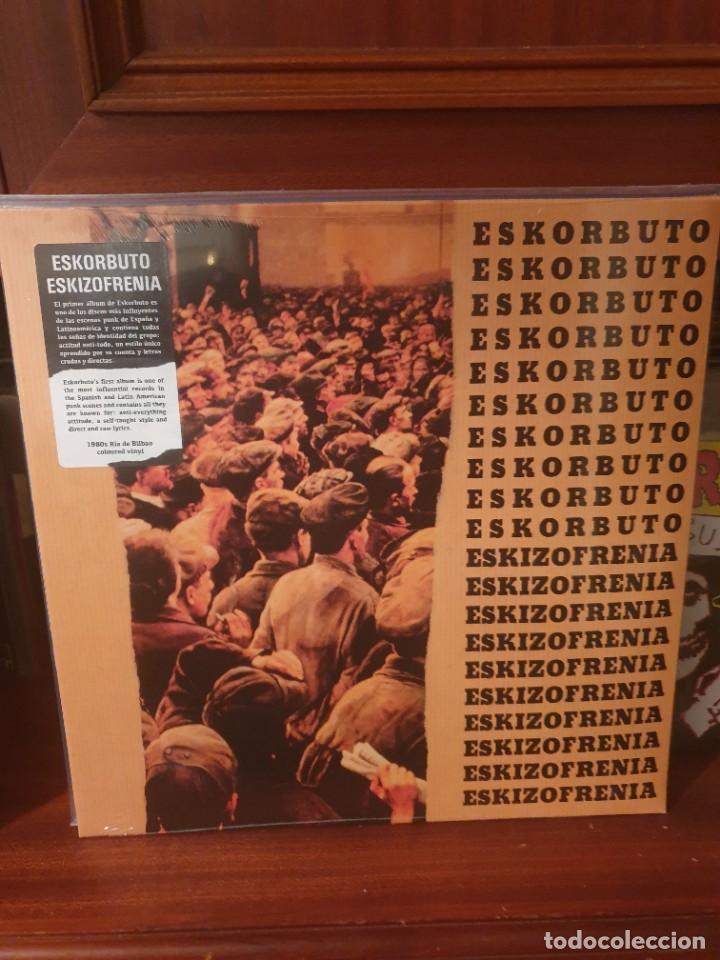 ESKORBUTO / ESKIZOFRENIA / MUNSTER RECORDS (Música - Discos - LP Vinilo - Punk - Hard Core)