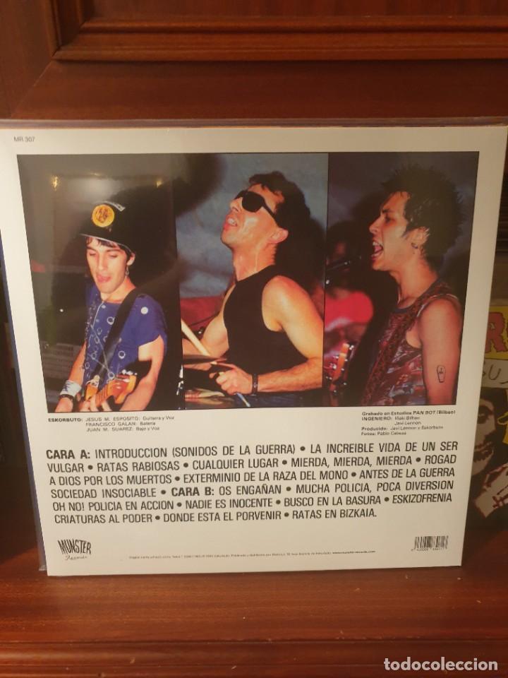 Discos de vinilo: ESKORBUTO / ESKIZOFRENIA / MUNSTER RECORDS - Foto 2 - 261556555