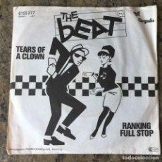 Discos de vinilo: THE BEAT -TEARS OF A CLOWN , SINGLE . 1979 GERMANY. Lote 261556930