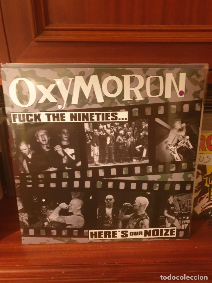 OXYMORON / FUCK THE NINETIES.. / DIRTY PUNKS RECORDS 2020 (Música - Discos - LP Vinilo - Punk - Hard Core)