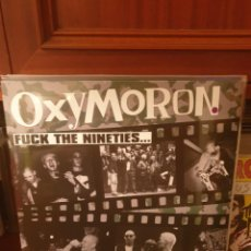 Discos de vinilo: OXYMORON / FUCK THE NINETIES.. / DIRTY PUNKS RECORDS 2020. Lote 261557660
