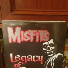 Discos de vinilo: MISFITS / LEGACY OF BRUTALITY / PLAN 9. Lote 261564500