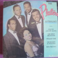 Discos de vinilo: LP - THE PLATTERS - ANTHOLOGY (DOBLE DISCO, USA, RHINO RECORDS 1986). Lote 261570070