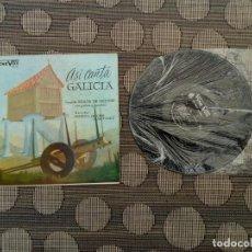Discos de vinilo: CORAL RUADA DE ORENSE - ASI CANTA GALICIA LP - HECHO EN VENEZUELA AÑOS 50. Lote 261570490