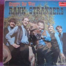 Discos de vinilo: LP - RANK STRANGERS - COUNTRY OUR WAY (SWEDEN , POLYDOR 1969). Lote 261570505