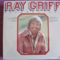 Discos de vinilo: LP - RAY GRIFF - EXPRESSIONS (USA, ABC RECORDS 1974). Lote 261570835