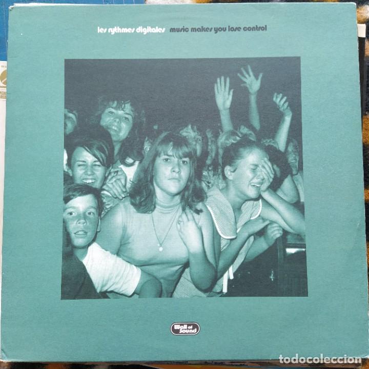 """LES RYTHMES DIGITALES - MUSIC MAKES YOU LOSE CONTROL (12"""") (1998/UK) (Música - Discos de Vinilo - Maxi Singles - Electrónica, Avantgarde y Experimental)"""