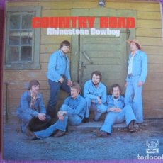 Discos de vinilo: LP - COUNTRY ROAD - RHINESTONE COWBOY (SWEDEN, VIKING RECORDS 1974). Lote 261571120