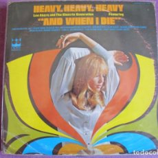 Disques de vinyle: LP - LEE AKERS AND THE ELECTRIC GENERATION - HEAVY HEAVY HEAVY (USA, CROWN RECORDS 1969). Lote 261574445
