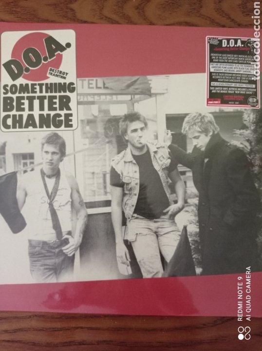 D.O.A. SOMETHING BETTER CHANGE. NUEVO. (Música - Discos - LP Vinilo - Punk - Hard Core)