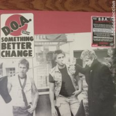 Discos de vinilo: D.O.A. SOMETHING BETTER CHANGE. NUEVO.. Lote 261580315