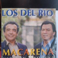 Discos de vinilo: LOS DEL RIO MACARENA-PROMO. Lote 261580410