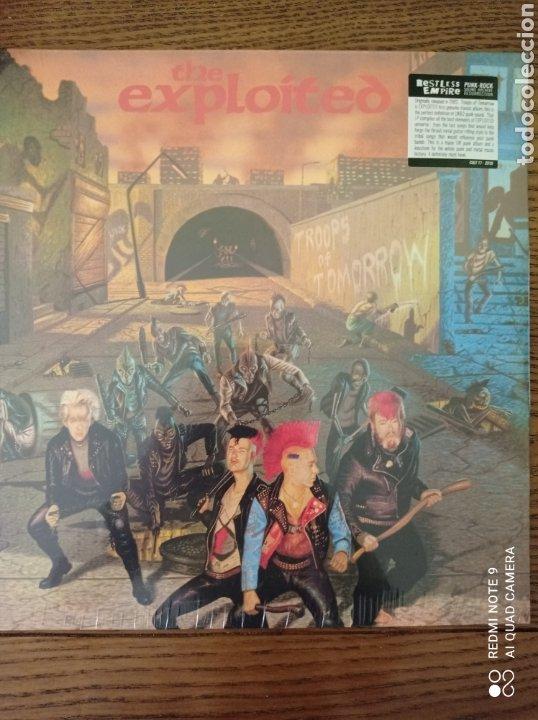 THE EXPLOITED. TROOPS OF TOMORROW. NUEVO. (Música - Discos - LP Vinilo - Punk - Hard Core)