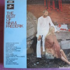Discos de vinilo: LP - NINA AND FREDERIK - THE BEST OF (ENGLAND, COLUMBIA RECORDS 1966). Lote 261583810