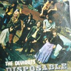 Discos de vinil: DEVIANTS.- DISPOSABLE (ORIG UK- 1ª EDICIÓN!!) LEER DESCRIPCIÓN. Lote 261584185