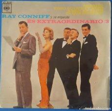 Discos de vinilo: EP / RAY CONNIFF - PARAISO - TODO LO QUE TU ERES - ABRIL EN PARIS - DI QUE NO ES ASI, 1963. Lote 261588385